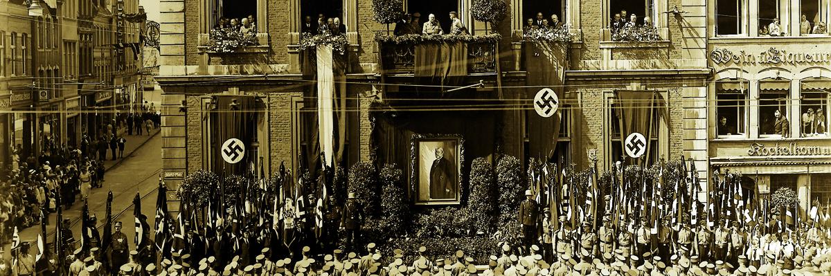 Trauerfeier für Hindenburg